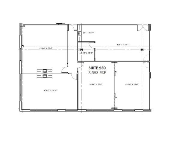 WP 1 Suite 250 Floor Plan