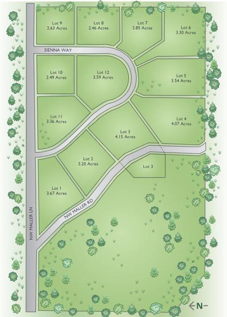 Maller Ridge Plat Map