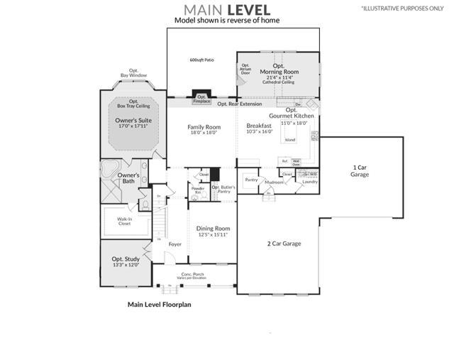 1437 Trinity Way Floorplans 1