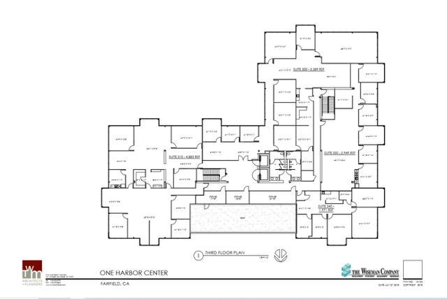 HC Third Floor plan