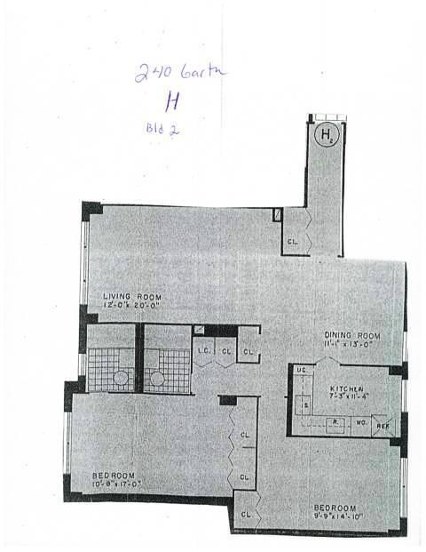 240 Garth H 2 floor plan