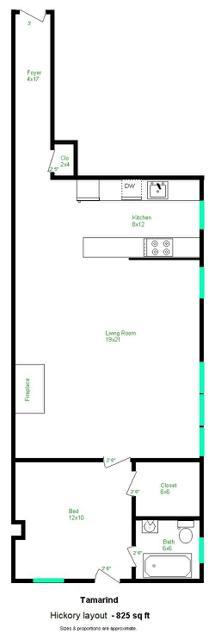 Hickory layout
