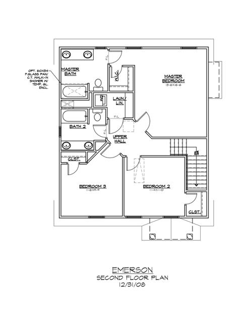 1628 Wickham Way Second Floor Plan