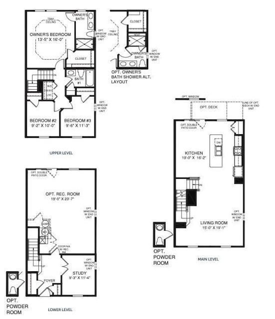 2125 Elm Tree Knoll Floor Plan