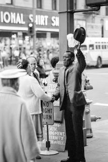 Los Angeles Street Preacher by Robert Wade