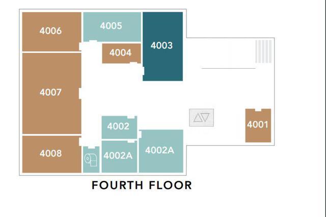 Main building 4 - Fourth Floor
