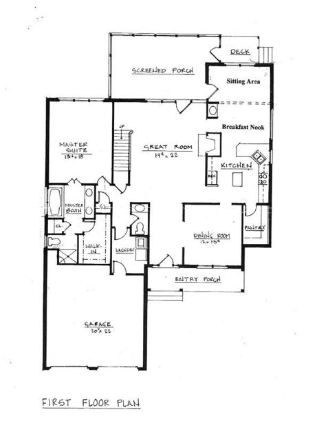 3376 Dunscroft Court Floor Plans 1