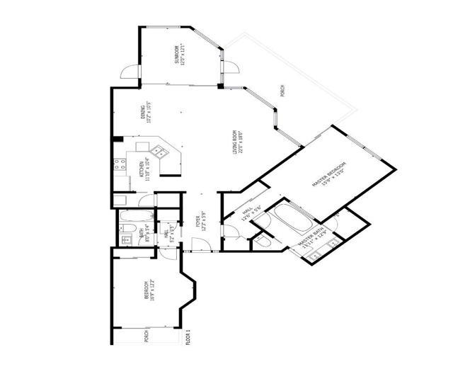 1651 Lands End Floor Plan