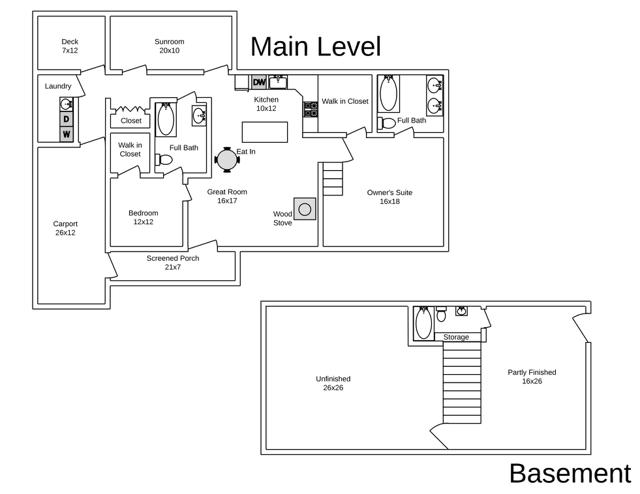 8641 Dick Woods Rd Floor Plan