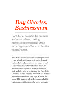 Ray Charles the Businessman