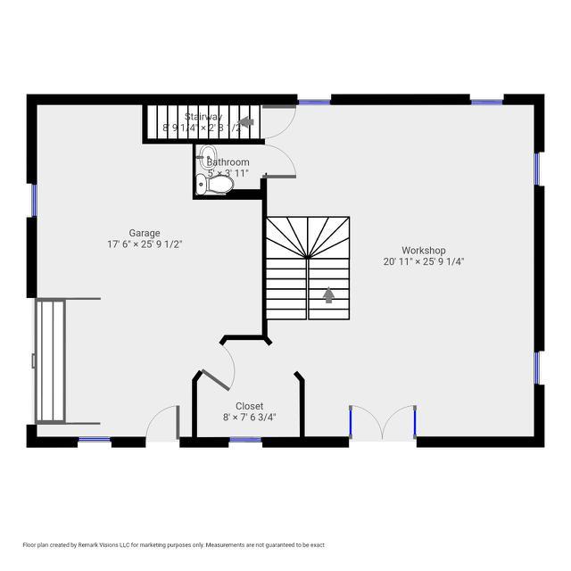 285 Parker carriage house - 1st Floor