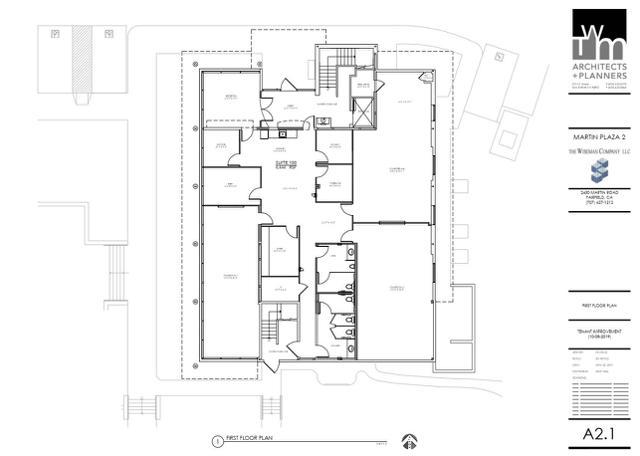 MP 2 First Floor Plan