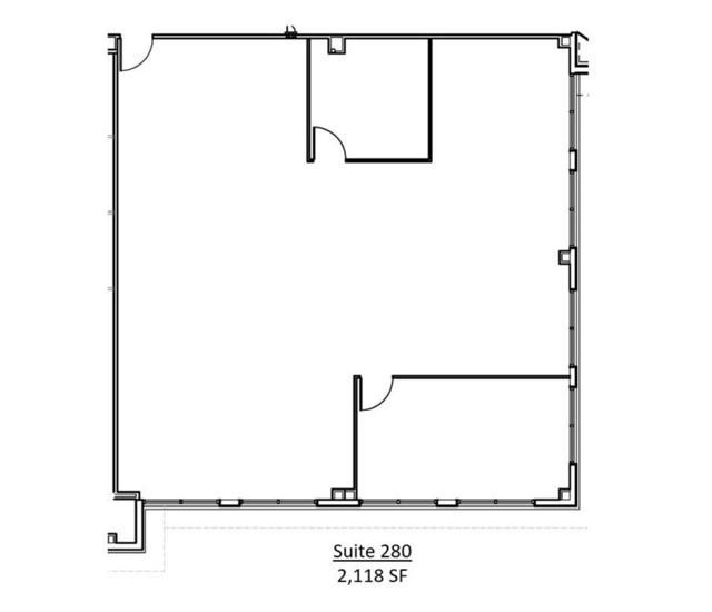 WCC Suite 280 Floor Plan