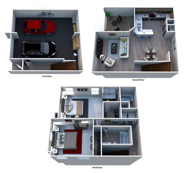 B2 Marseille Townhome