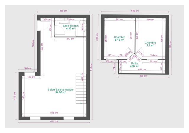 Plan duplex 3R