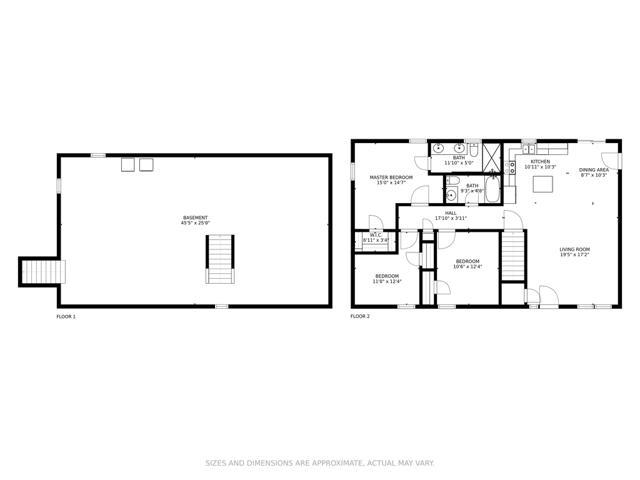 Main Floor & Basement