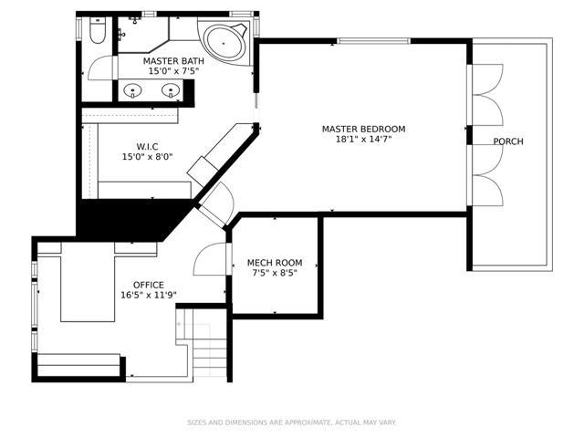 Bay House Upper Level