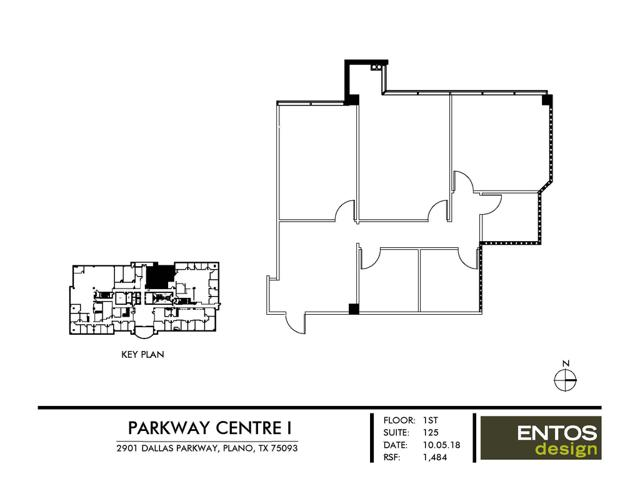 Parkway Centre I - Suite 120 - 1,484 RSF