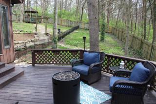 Deck & Back yard