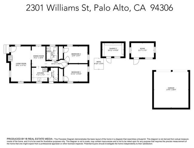 2301 Williams St, Palo Alto, CA  94306