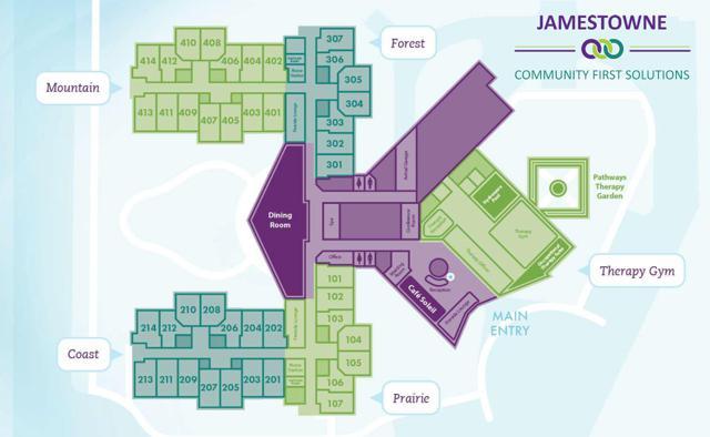 Jamestowne Floorplan