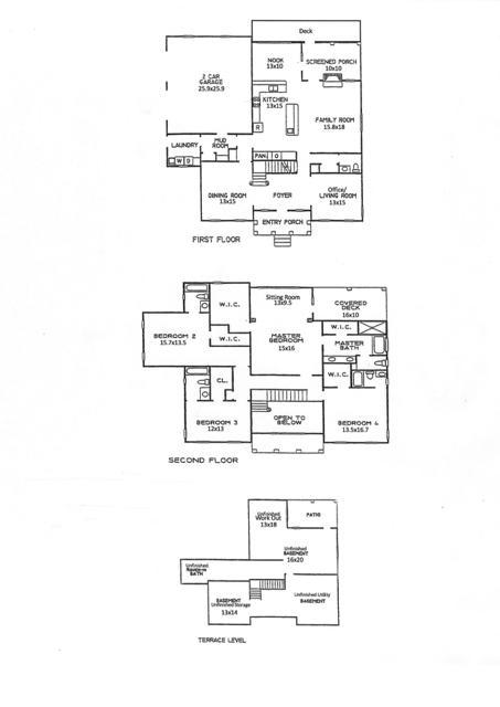 6577 Woodbourne Lane Floor Plans