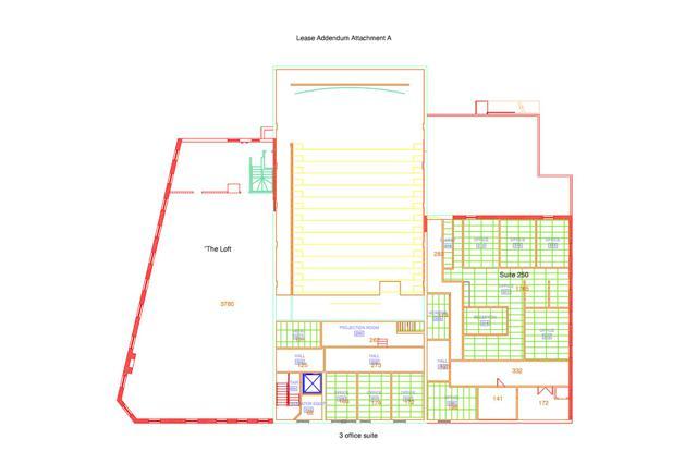 Armour SECOND FLOOR Floorplan