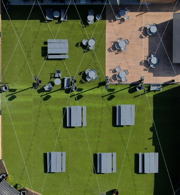 Covington Yard Aerial