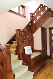 Staircase Main Level to 2nd