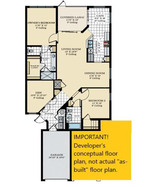 Egret Floorplan (Typical)