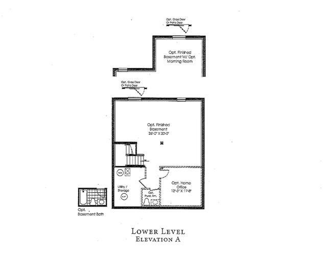 Delilah Floorplans Basement