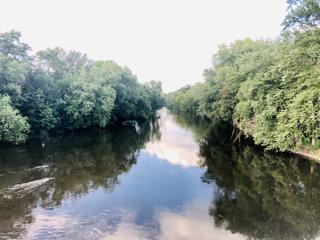View Of The Tippecanoe River From The Pulaski Bridge