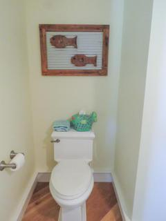 Half bath toilet