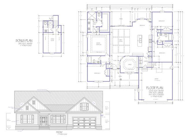 605 Crow Creek Dr - Floor Plan