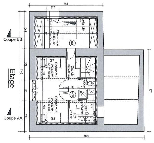 Plan 1er Etage Bertin
