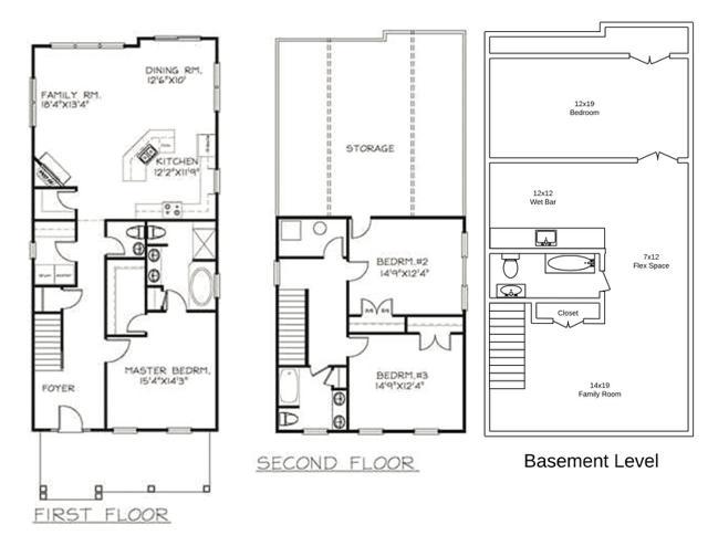 294 Claremont Lane Floorplans