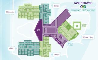 Jamestowne Campus Map