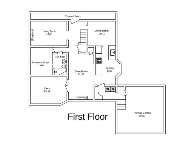 500 Arrowhead Drive Floorplans 1