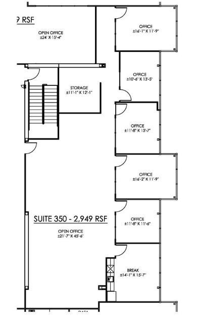 HC Suite 350 Floor Plan