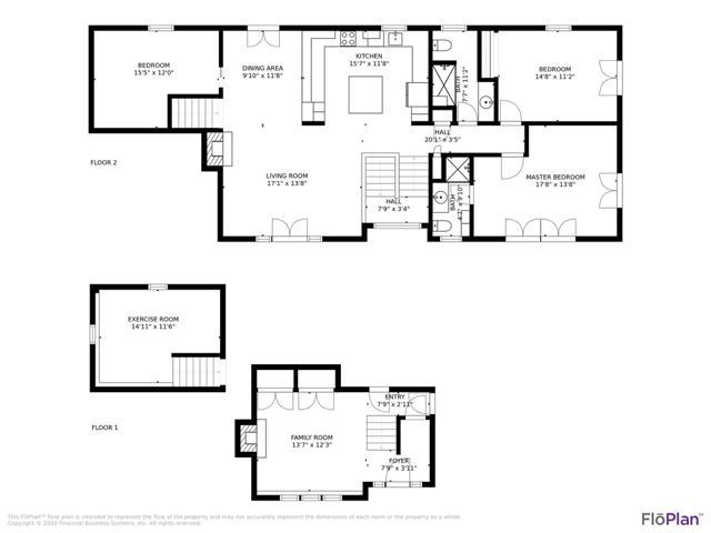 110 Clover Hill Drive - Floor Plan