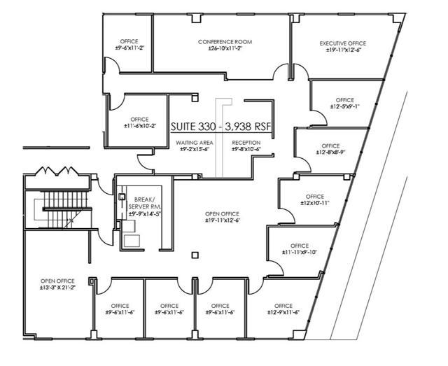 CP Suite 330 Floor Plan