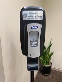 GVEC Sanitization Stand
