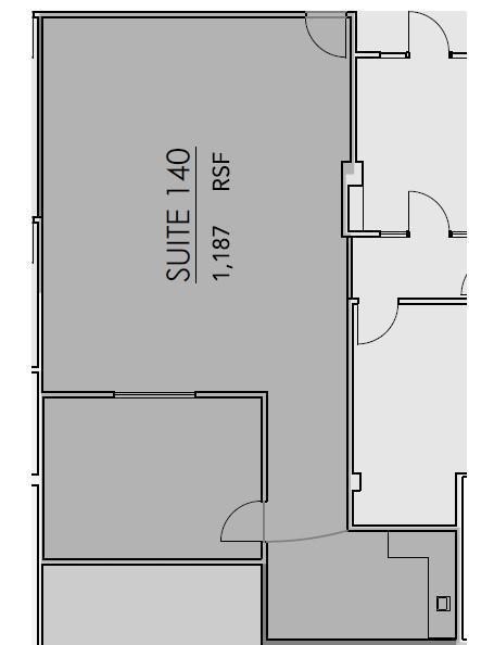 GVW Suite 140 Floor Plan