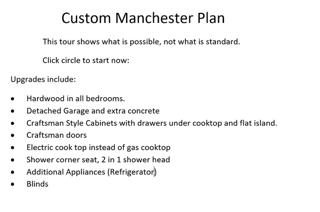 Custom Manchester Plan
