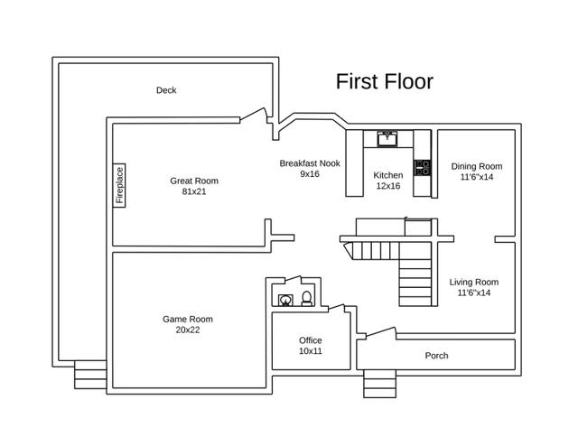 450 Labrador Lane Floorplans 1