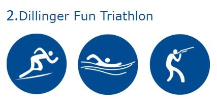 2. Dillinger FUN-TRIATHLON