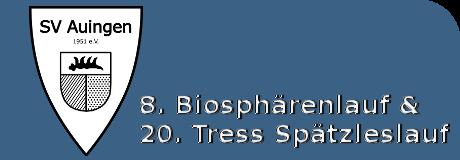 8. Biosphärenlauf & 20. Tress Spätzleslauf
