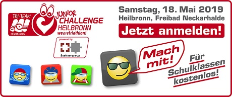 Junior Challenge Heilbronn / Schüler- und Jugend Swim & Run 2019