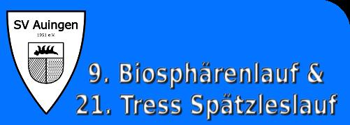 9. Biosphärenlauf & 21. Tress Spätzleslauf