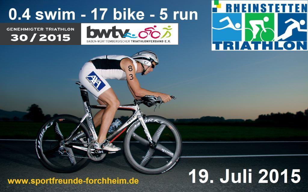 Rheinstetten Triathlon 2015